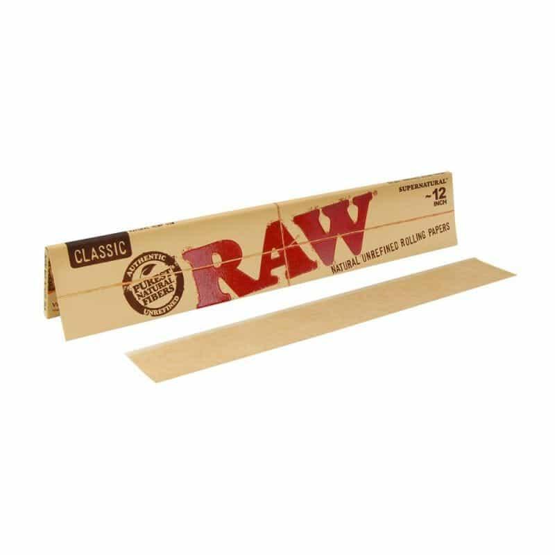 RAW Supernatural Rolling Paper 12″ – 1 pk