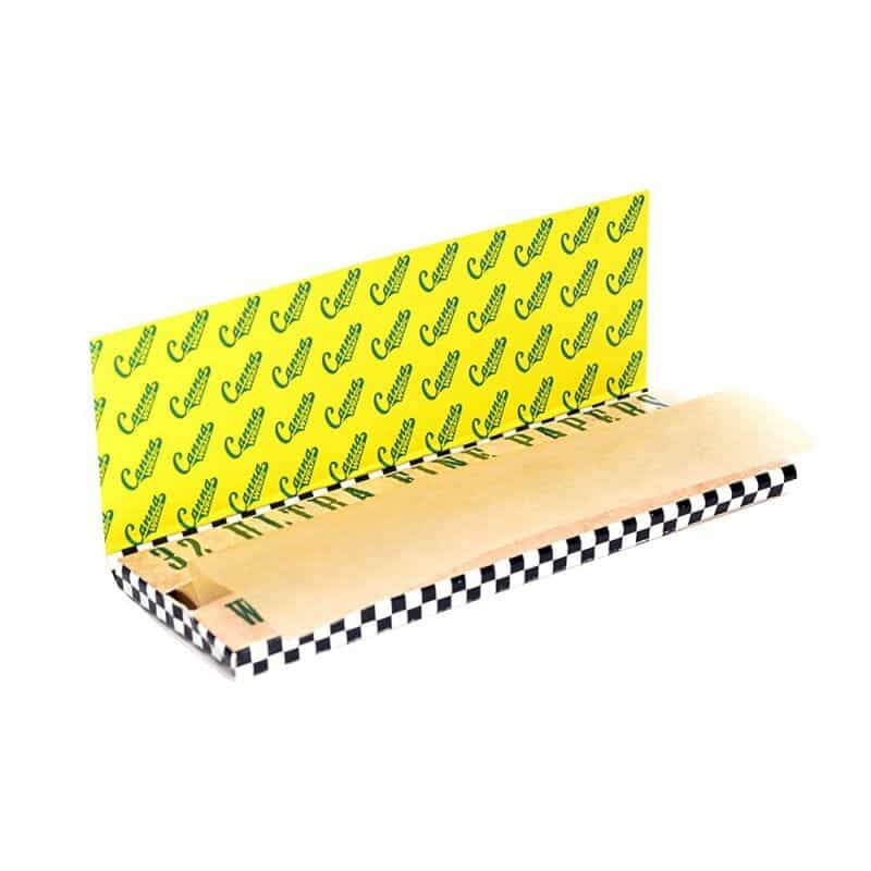 """Canna Wraps Natural Rolling Papers 1-1/4"""" - 1 pk"""