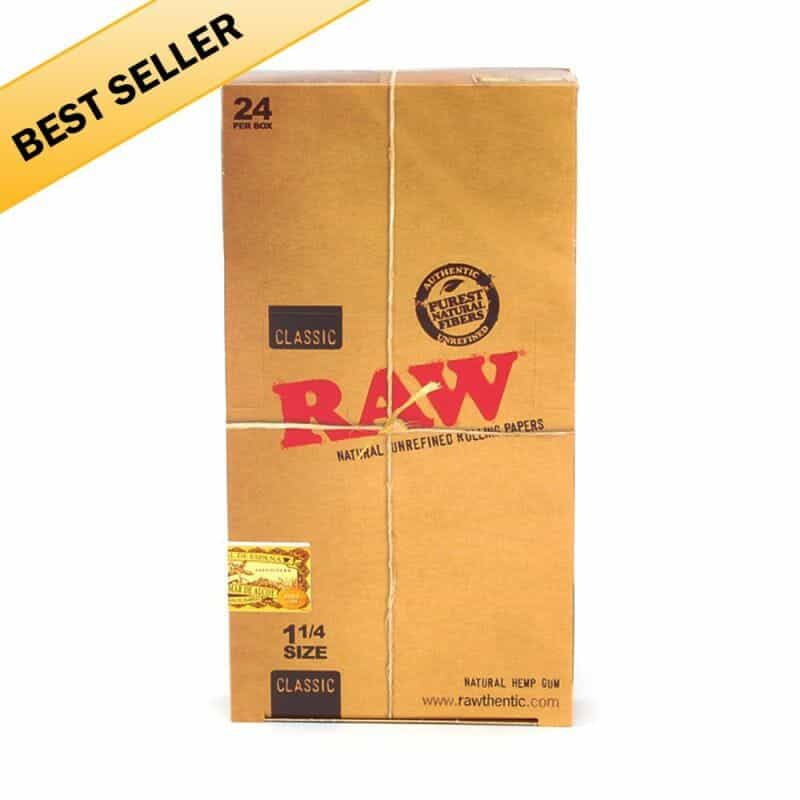"Raw Rolling Papers 1-1/4"" - 1 pk - Display Box - 1"