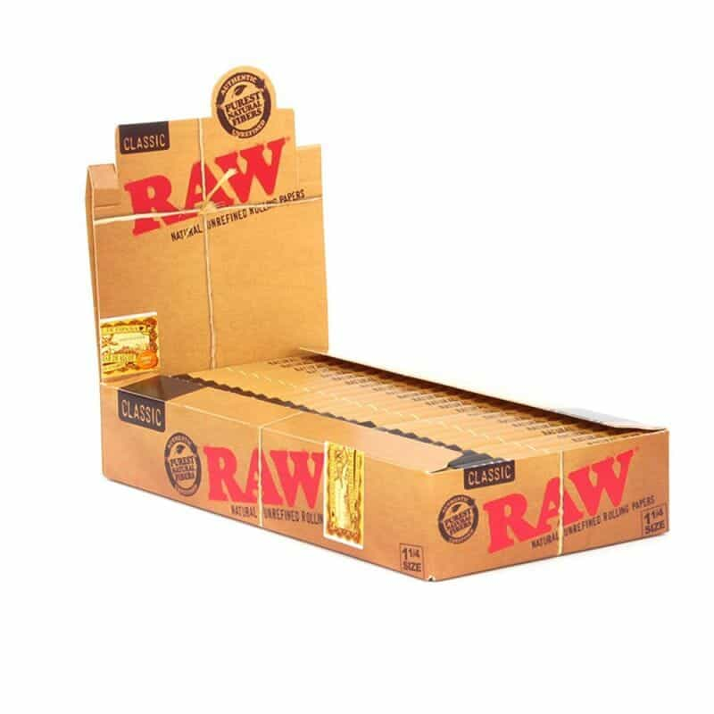 "Raw Rolling Papers 1-1/4"" - 1 pk - Display Box"