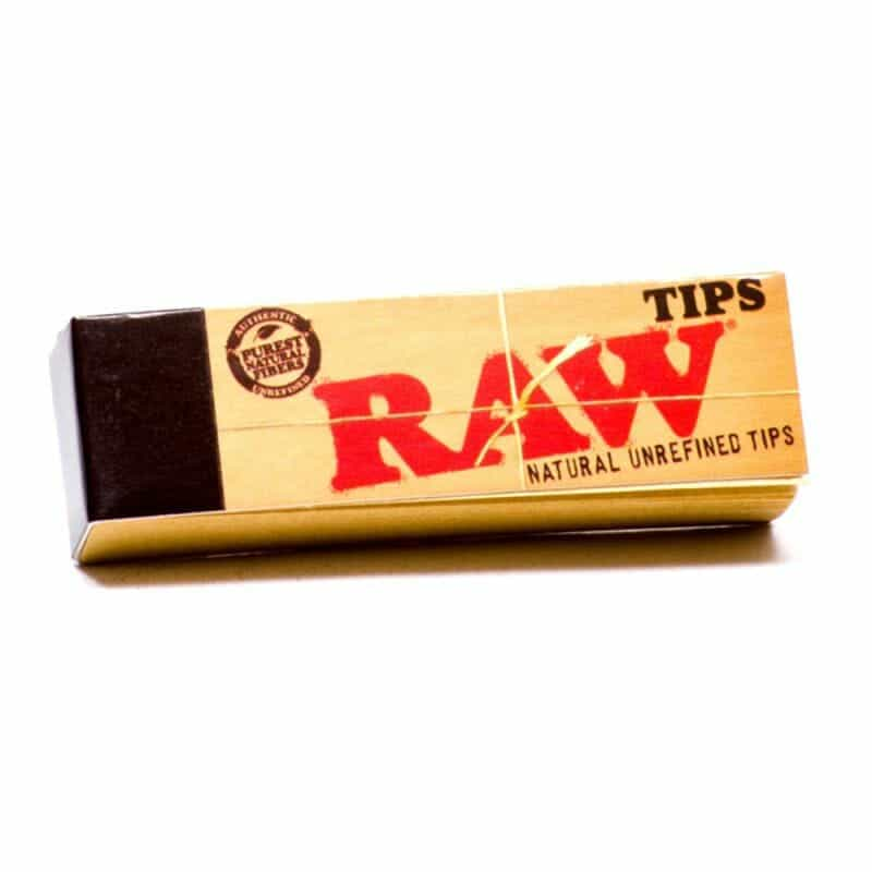 RAW Rolling Paper Tips – 1 pk