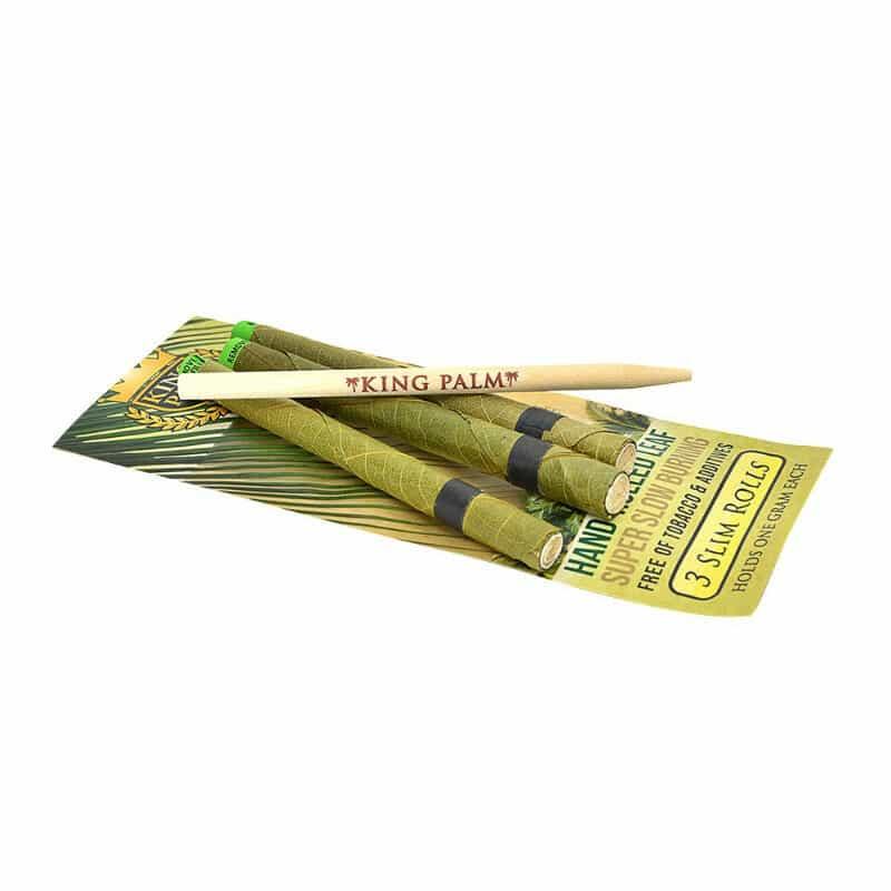 King Palms Super Slow Burning Wraps Slim – 3 pc