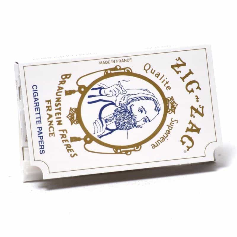 Placeholder Zig Zag Rolling Papers White Original – 1 pk