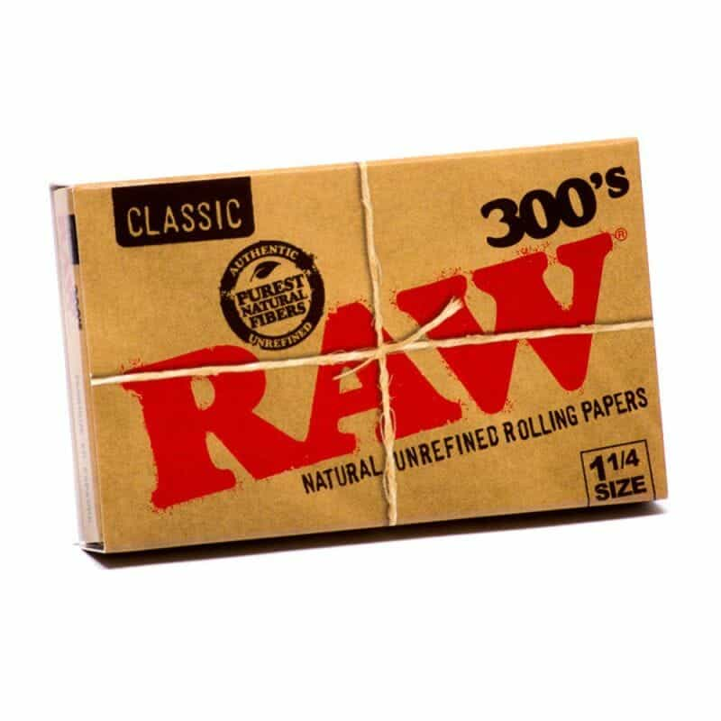 Raw 300 1-1/4″ Rolling Papers – 1 pk (300 pcs)