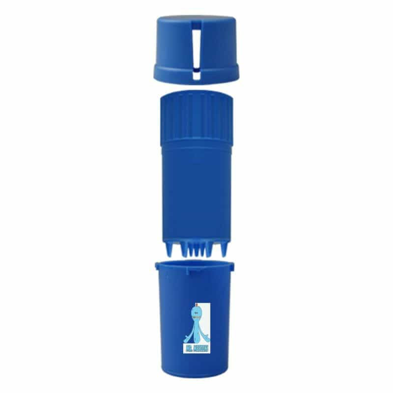 The Medtainer Storage w/ Grinder Meeseeks / Blue - 20 Dram / Expanded