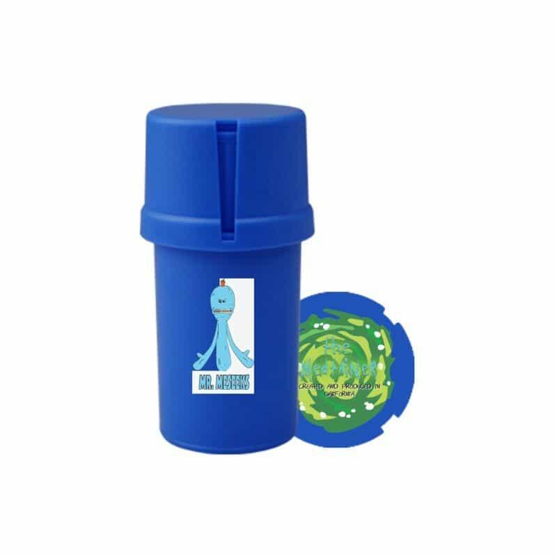 The Medtainer Storage w/ Grinder Meeseeks / Blue - 20 Dram
