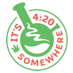It's 4:20 Somewhere Best Online Head Shop