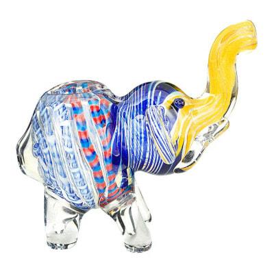 Mini Elephant Hand Pipe - 1