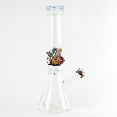 Empire Glassworks Aquatics Beaker Flagship Water Pipe - 1