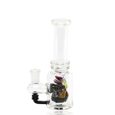 Empire Glassworks Save The Sea Mini Beaker Water Pipe - 1