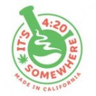 420 Somewhere Made in California Glass