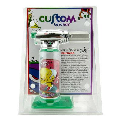 Custom Torches Dunkees Meltdown - Green - 01