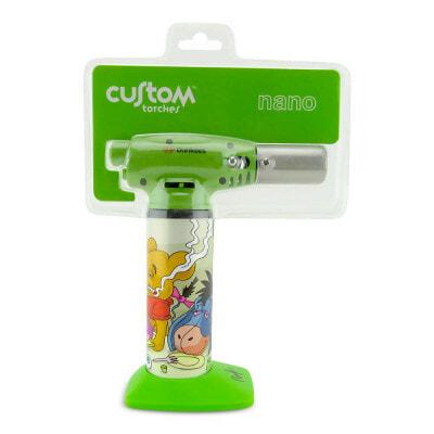 Custom Torches Nano Torch Danksgiving Honey - Green - 01