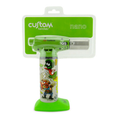Custom Torches Nano Torch Hold Up - Green - 01