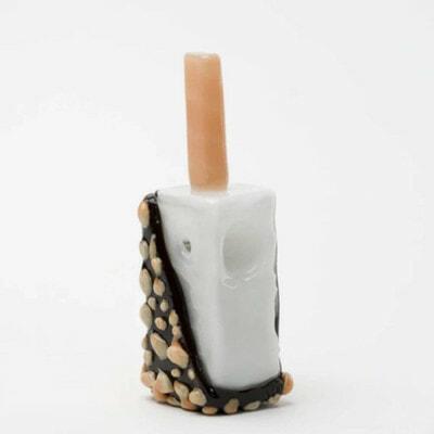 Empire Glassworks Hazel Nug Hand Popsicle Hand Pipe