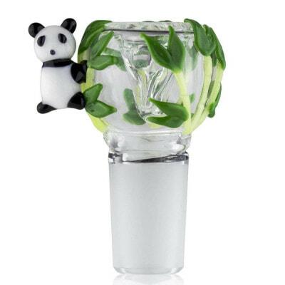 Empire Glassworks Male Bowl Panda