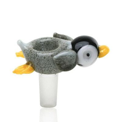 Empire Glassworks Male Bowl Penguin Paulie - 01