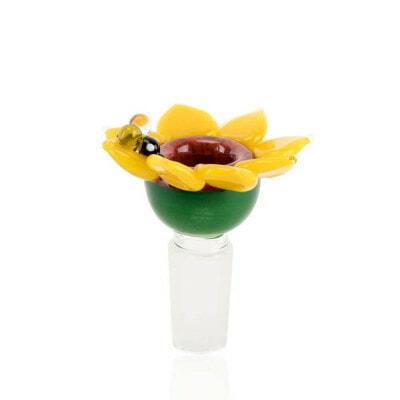 Empire Glassworks Male Bowl Sunflower - 01