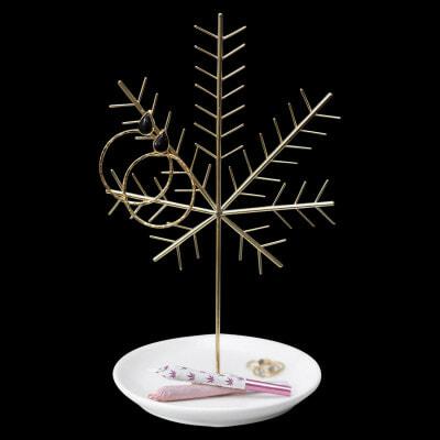My Bud Vase Cannabis Leaf Jewelry Tree - 01