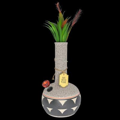 My Bud Vase Coyote Water Pipe - 01