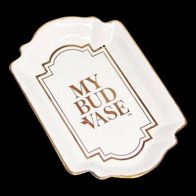 My Bud Vase Porcelain Tray